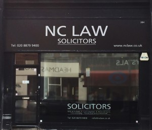 The premises of NC Law Solicitors